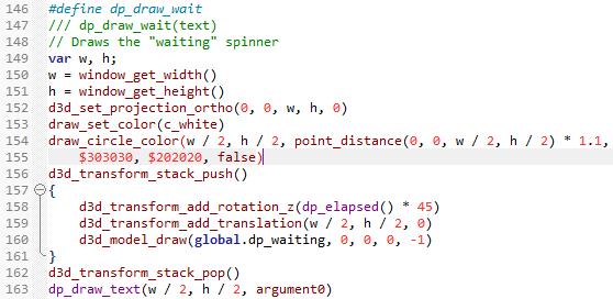 Notepad++: Syntax highlighting for GameMaker Studio