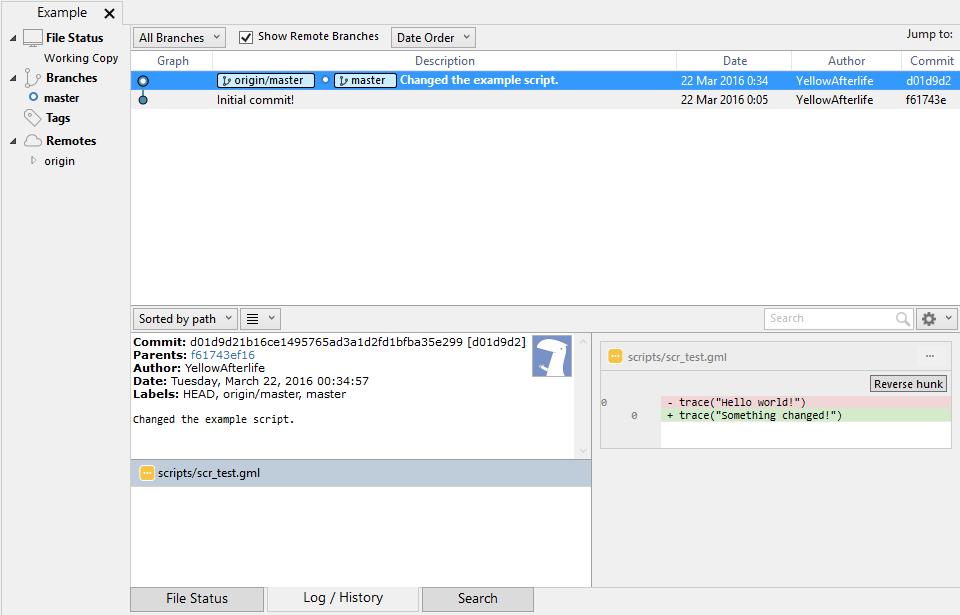 GameMaker: Using external version control
