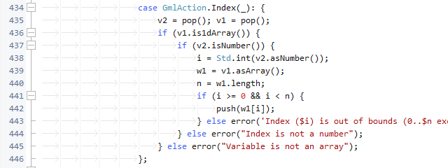 Error handling in GMLive.gml source code